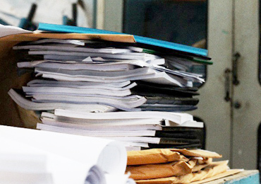 書類・書籍の保管場所に困った